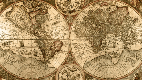 World Map old